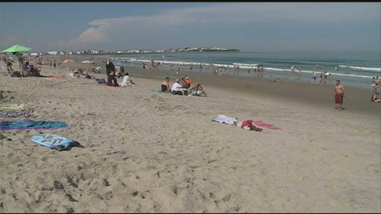 Lifeguards at Hampton Beach rescued 11 beachgoers Tuesday after they got caught in rip currents.