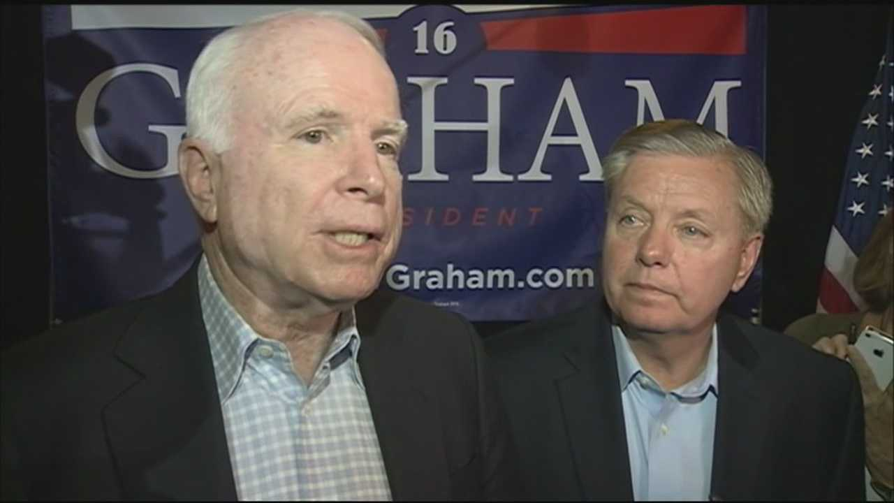 Sen. John McCain explains why he thinks Sen. Lindsey Graham can win the New Hampshire primary.