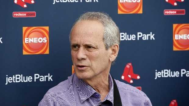 Red Sox President and CEO Larry Lucchino, whose management of the team brought the Boston Red Sox three World Series titles, is stepping down from that role, the team confirmed Saturday night.