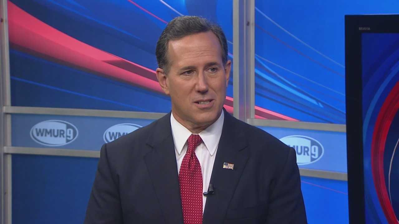 Republican presidential candidate Rick Santorum sits down with Josh McElveen on CloseUP.