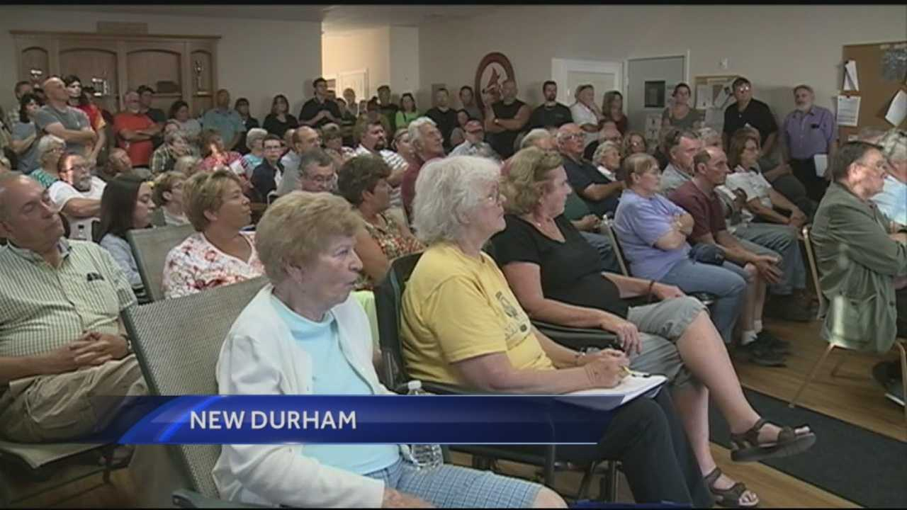 Two weeks after the New Durham Board of Selectmen fired their police chief, residents held a forum Thursday. WMUR's Stephanie Woods reports.