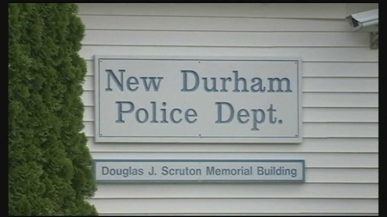 Tensions flared at a public forum in New Durham last night as some residents voiced their concerns over the board of selectmen's decision to fire the town's police chief.