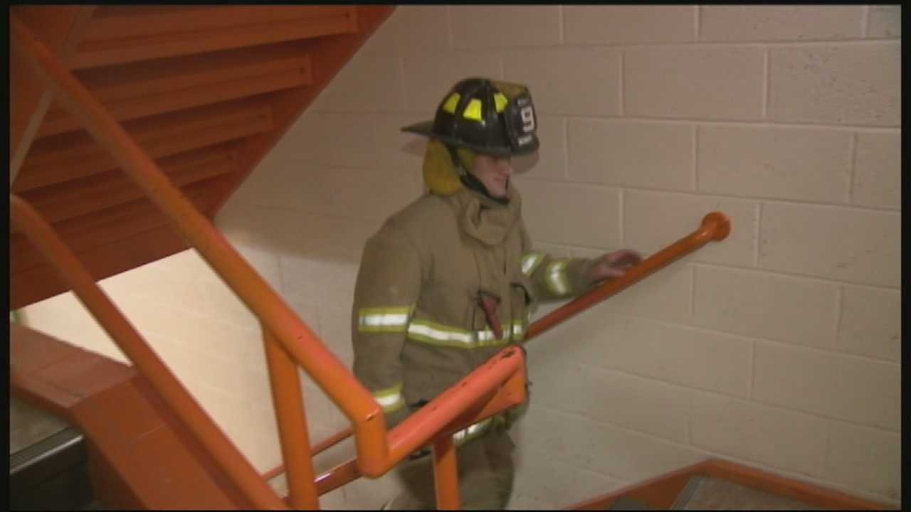 Local fire fighters are hoping more members of the public will join them for the annual New Hampshire 9/11 Memorial Stair Climb.