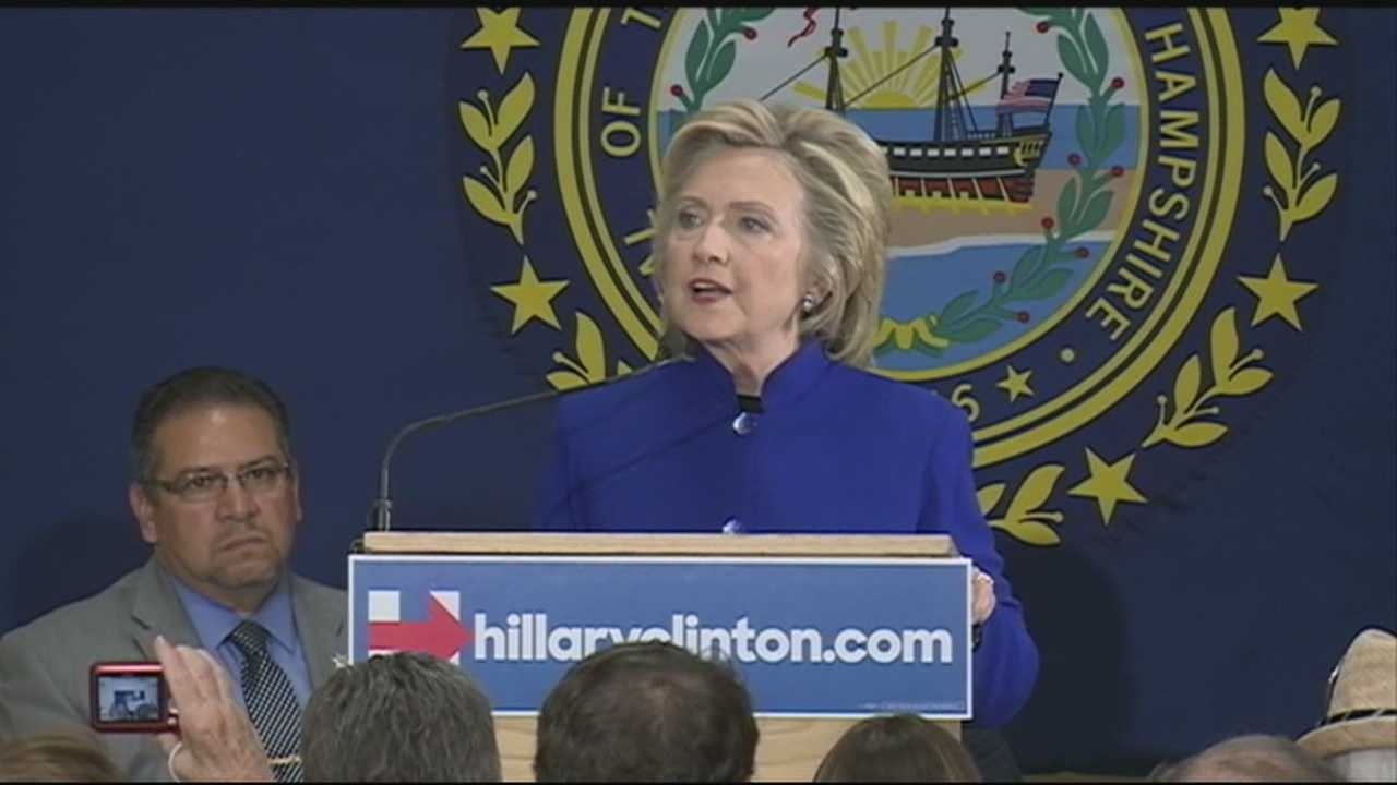 It was in Keene where Democratic presidential candidate Hillary Clinton first became aware of New Hampshire's heroin epidemic, and she was back in the area Tuesday to talk about it in-depth.