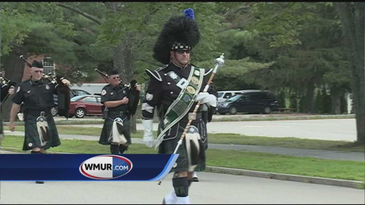 The city of Concord wrapped up their week-long 250th anniversary celebration with a parade Sunday.