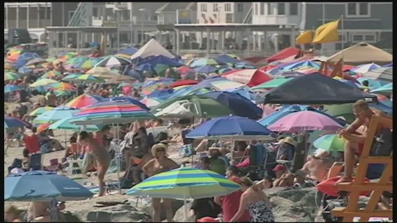 Hot Weather Hits NH