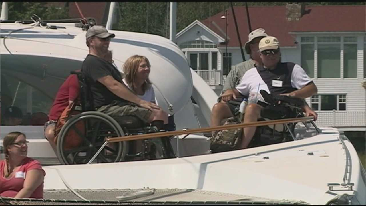 The Impossible Dream is a 60 foot long wheelchair accessible catamaran.