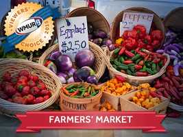 This week, we asked our viewers where to find the best farmers' markets in the Granite State. Take a look at the top responses!