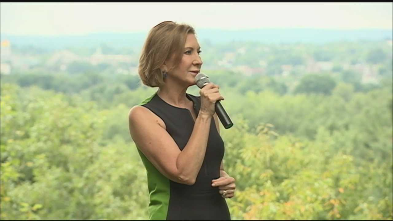 Presidential candidate Carly Fiorina may be the lone woman vying for the Republican nomination, but she fought back Sunday against suggestions that her gender is a weakness.