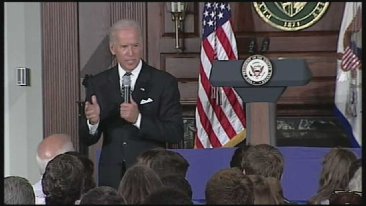 CNN is reporting that multiple sources close to Vice President Joe Biden say he is leaning toward a White House bid in 2016 -- but still hasn't made up his mind.