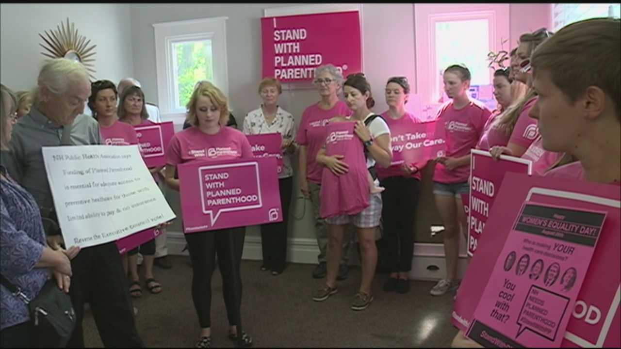 Organizers and supporters of Planned Parenthood New Hampshire say losing $600,000 from the group's budget is affecting the health of women across the state