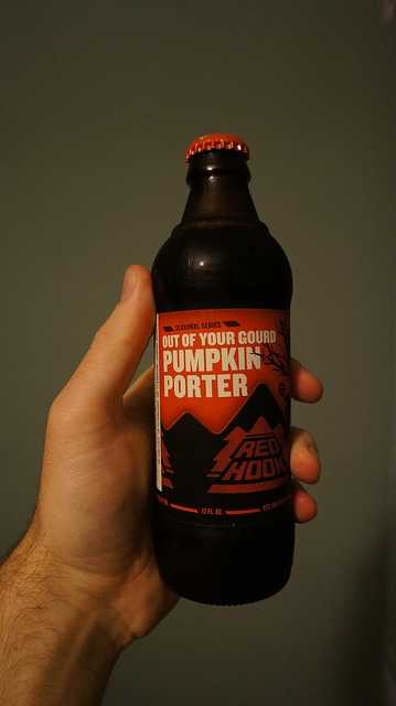 Redhook Pumpkin Porter from the brewery in Portsmouth.