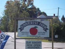 Fresh bread from Sunnycrest Farm in Londonderry.