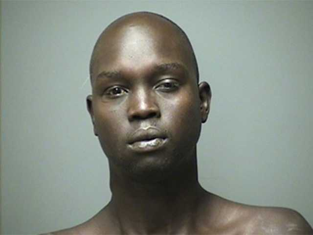 Deng Lauly, 25, was charged with resisting arrest.