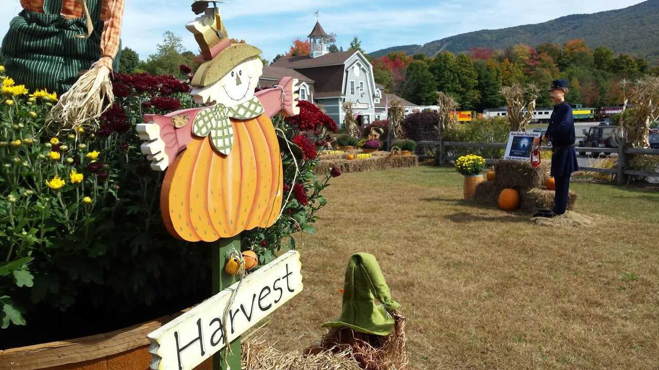 A classic fall foliage experience at the Hobo Harvest.
