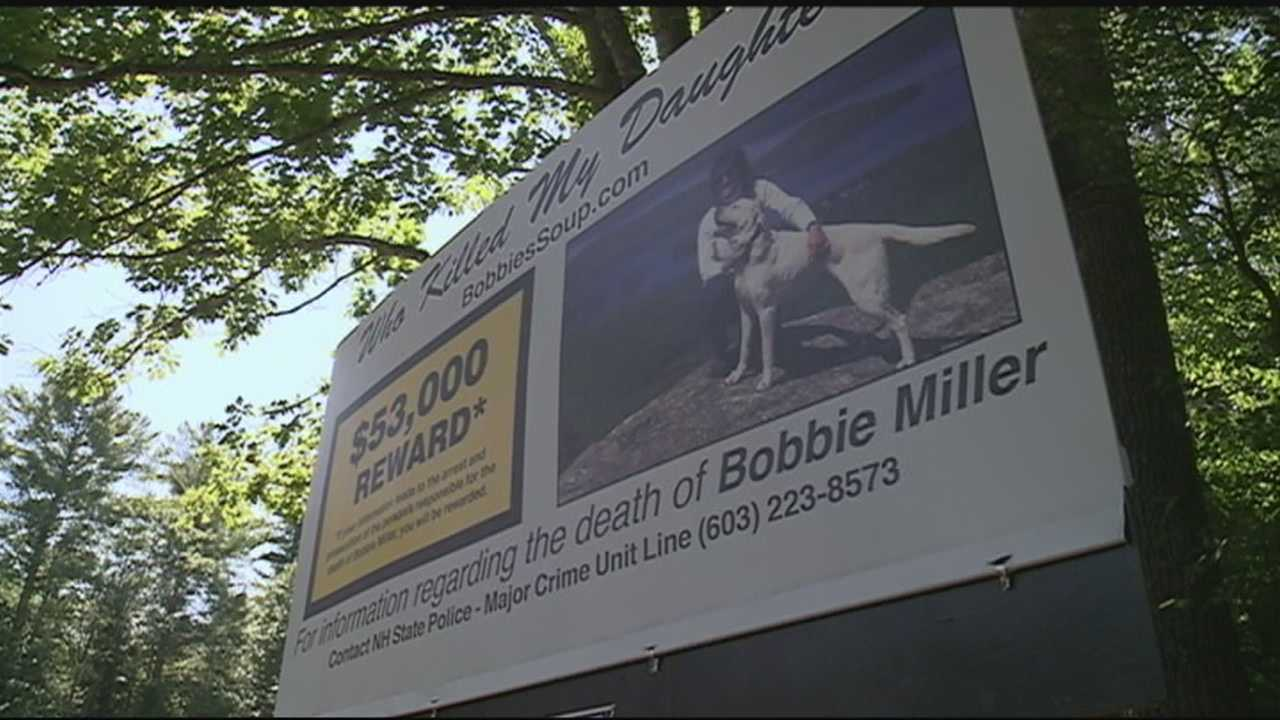 The family of a Gilford woman killed almost five years ago hopes a billboard and a new reward will help find her killer.