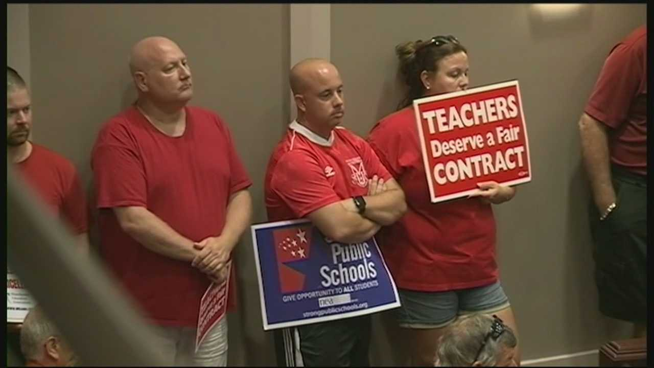 For the first time in three years, teachers in Manchester returned to class Wednesday with a new contract.