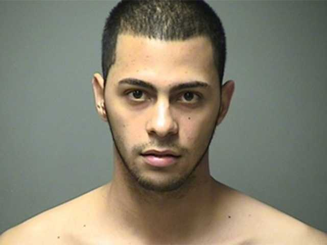 Jose Agosto Guerrios, 19, of Manchester, was charged with possession of a controlled drug (marijuana).