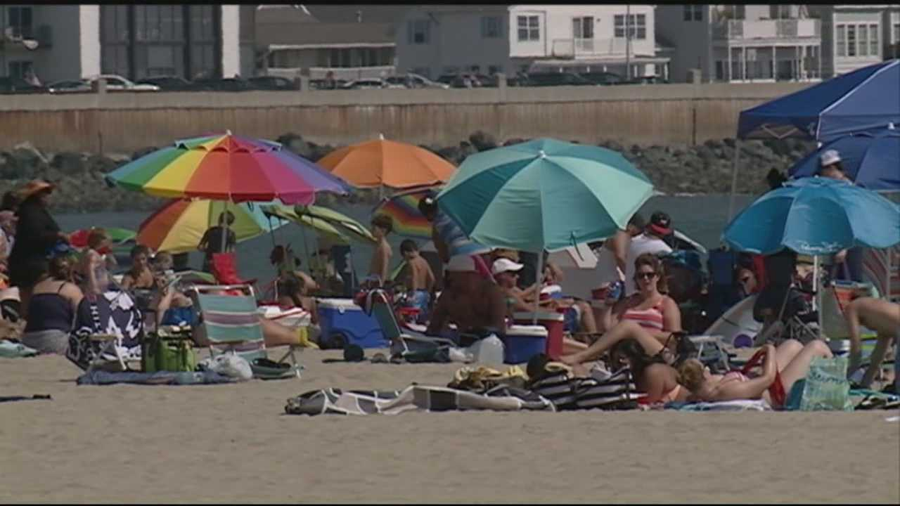 Though Labor Day traditionally marks the unofficial end of Summer, the weather was hot and steamy at Hampton Beach.