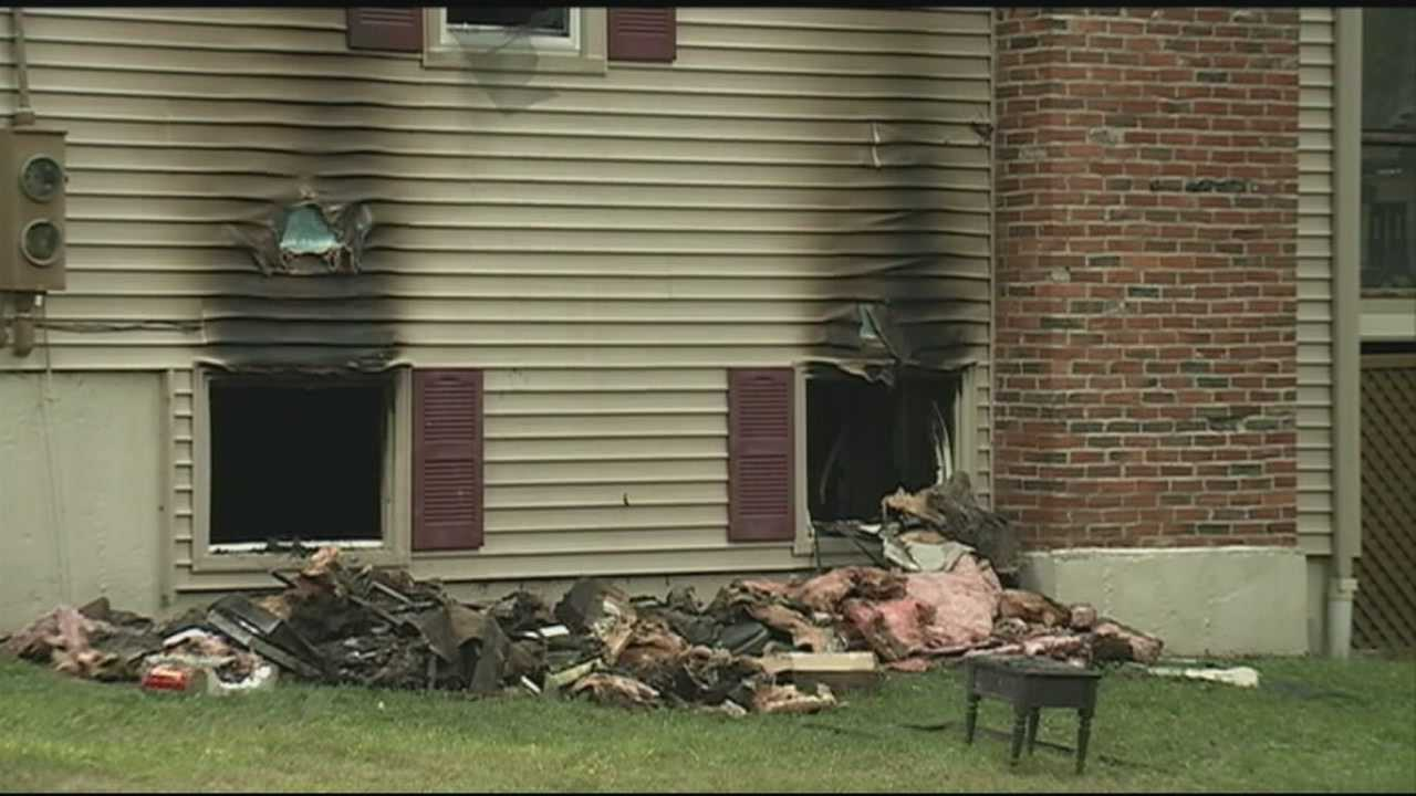 A man was killed Monday night in a house fire in Bedford.