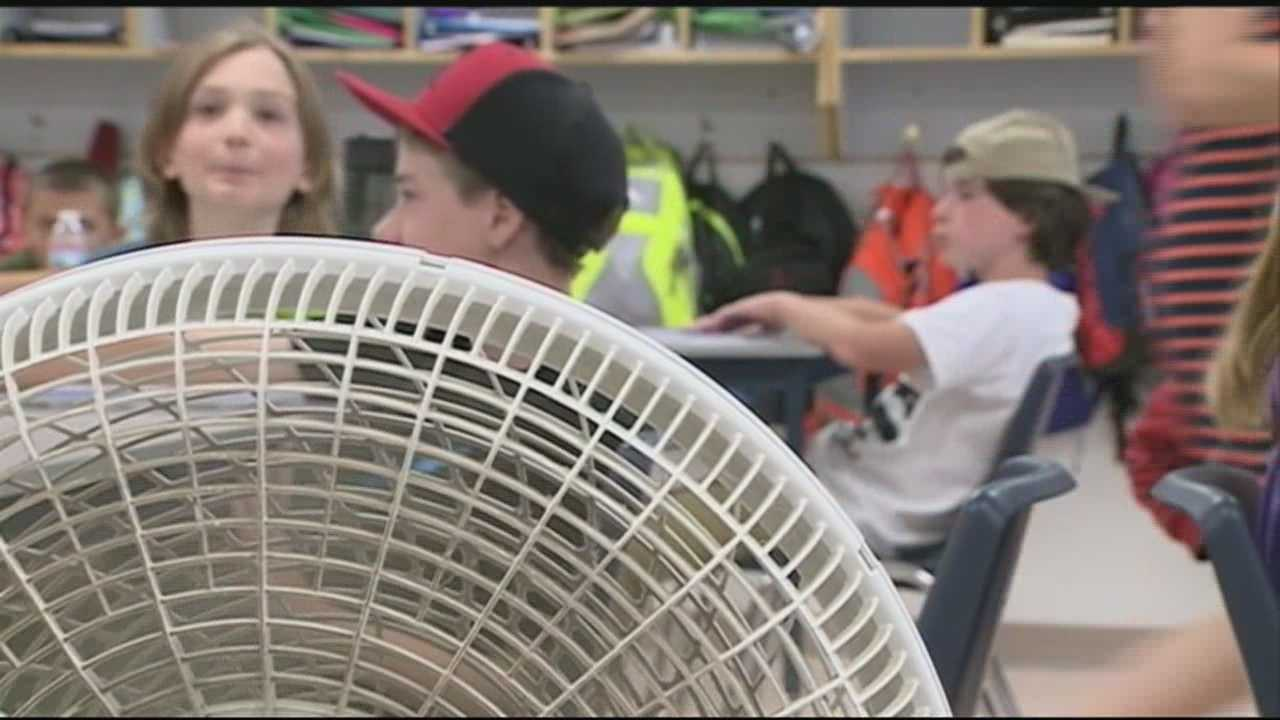 Many New Hampshire schools are taking extra precautions to help students through this week's sweltering heat.