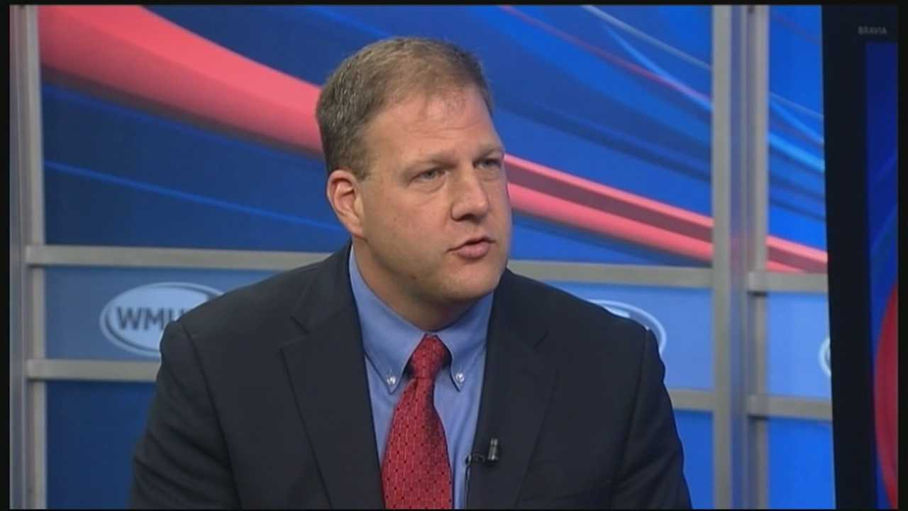 Republican Executive Councilor Chris Sununu has become the first official challenger for governor.