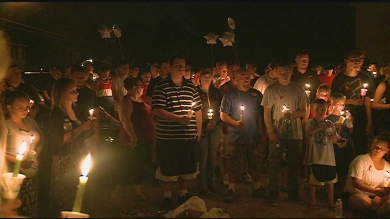 A candlelight vigil was held Tuesday for a Nashua man who was struck and killed by an alleged drunken driver over the holiday weekend.
