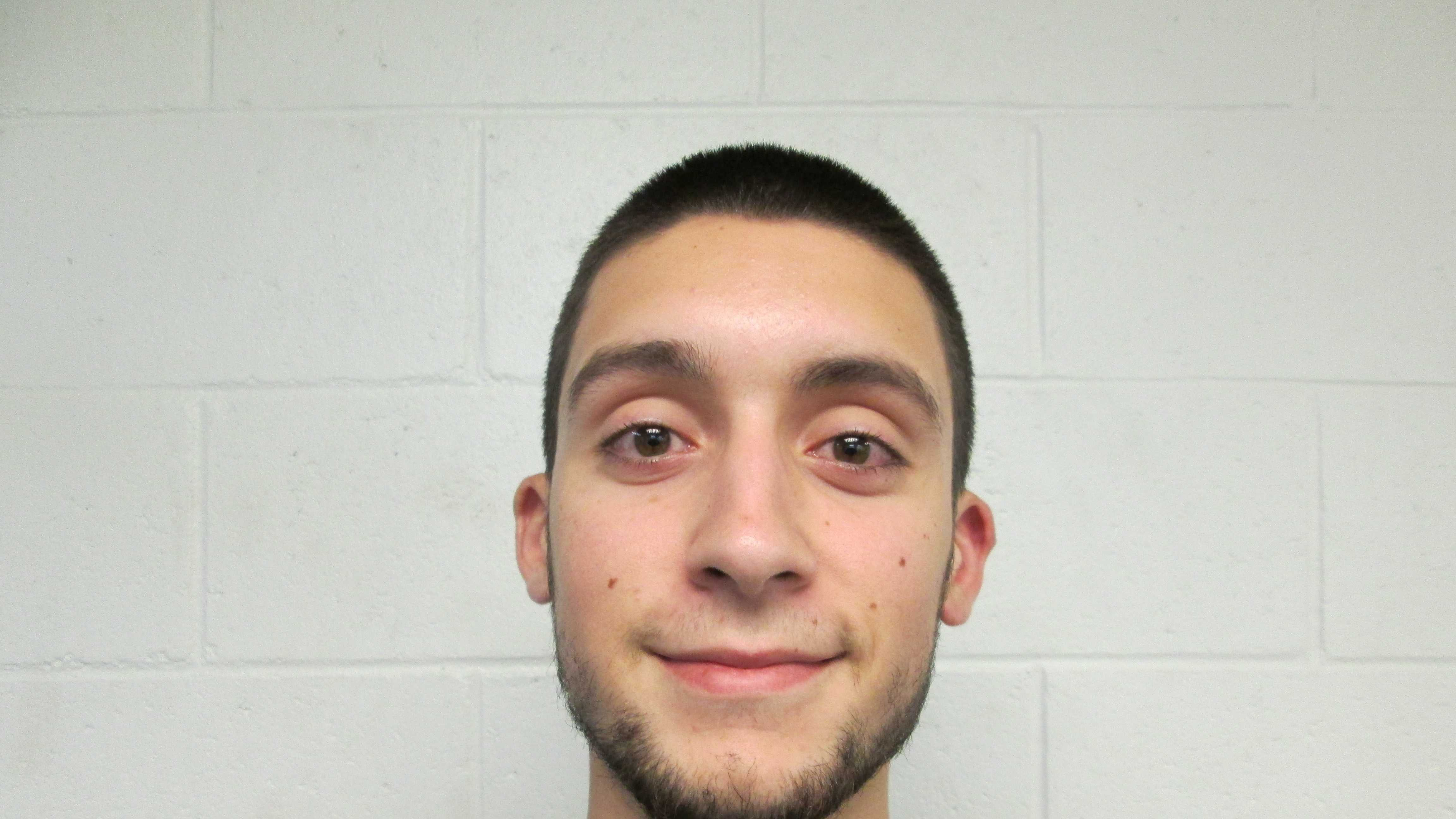 Hooksett police arrested 21-year-old Exander Casanova on Thursday after he allegedly pushed a female to the ground and broke her cell phone.
