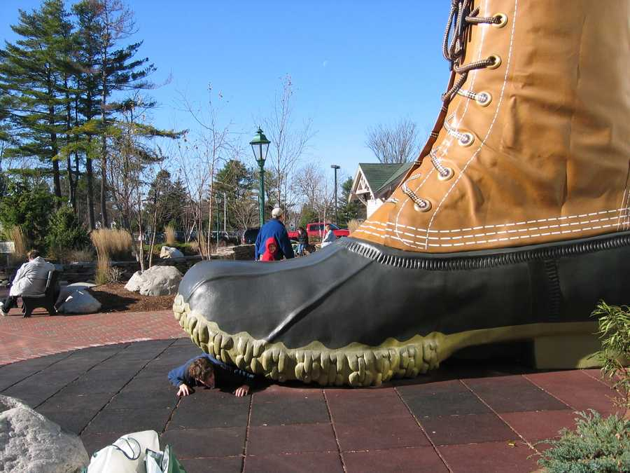 L.L. Bean Boots (hopefully we won't need a pair quite this large this winter!)