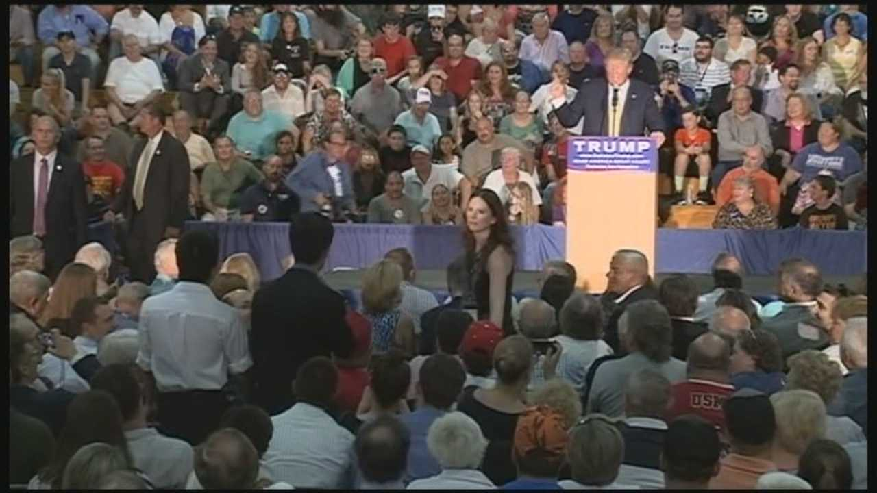 Republican presidential candidate Donald Trump held a town hall in New Hampshire on Thursday. A day after his appearance in the GOP debate hosted by CNN. WMUR's Stephanie Woods has the report.