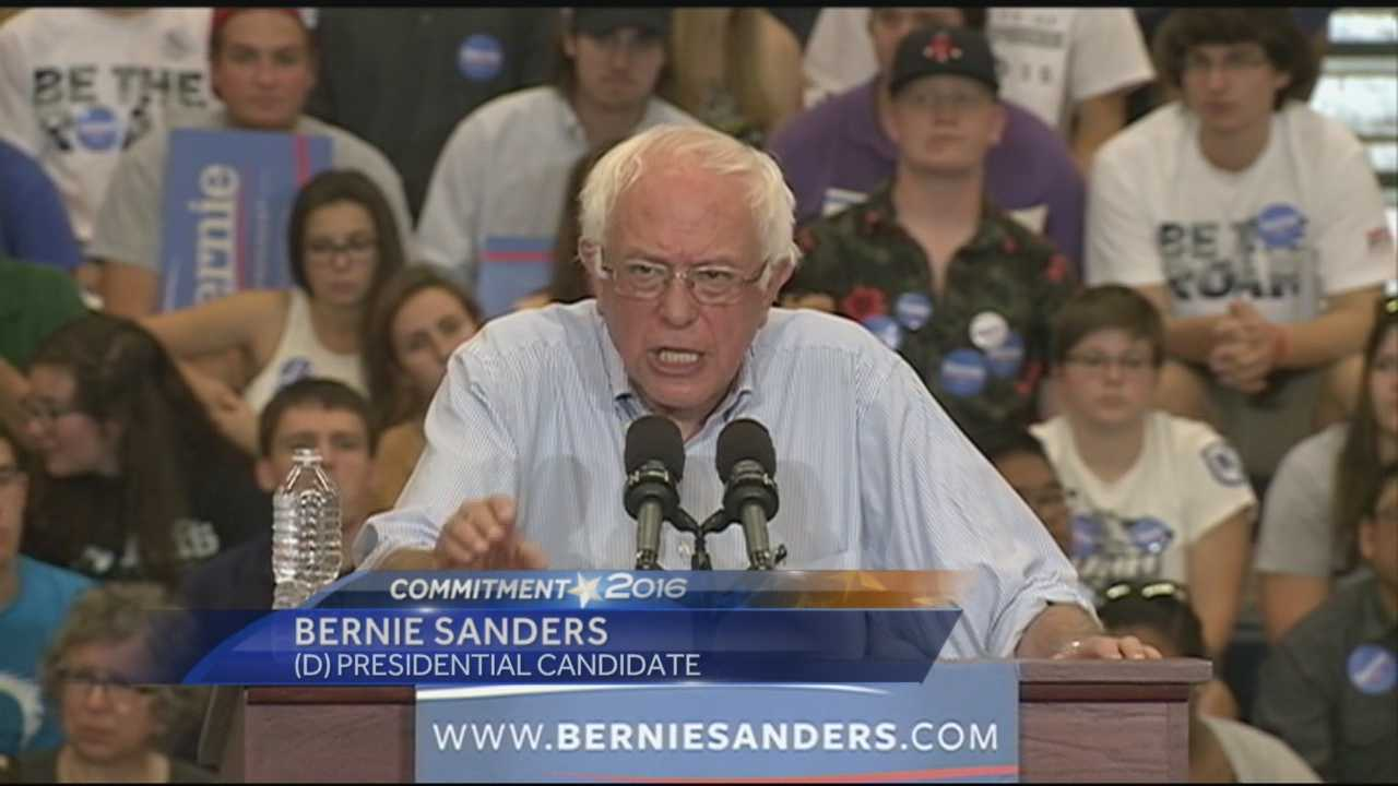 Sen. Bernie Sanders (D, Vermont) is touring the Granite State a day after the New Hampshire Democratic Convention.