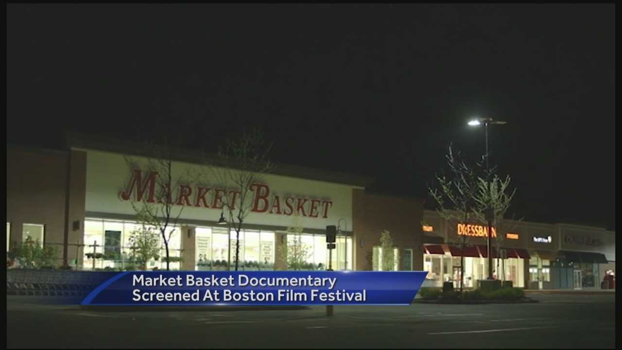 Film highlighting Market Basket protests screened at film festival.
