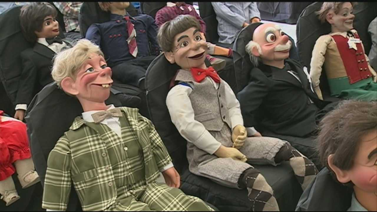 About 250 ventriloquist figures -- some more than 100 years old -- will be up for auction in Seabrook this weekend.