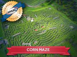 This week, we asked our viewers where to find the best corn maze in the Granite State. Take a look at the top responses!