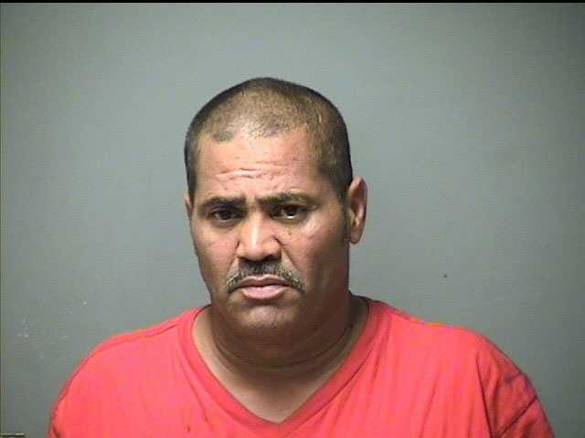 Angel Alicea, 53, of Manchester, was charged with Possession of a controlled drug.