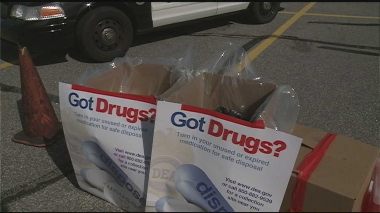 Communities across New Hampshire and around the country took part in Drug Take Back Day on Saturday.