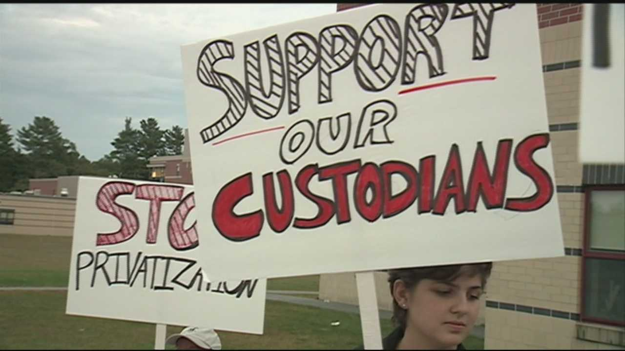 Custodians in Nashua could be fighting for their jobs if a new privatization plan floated by the Board of Education moves forward.
