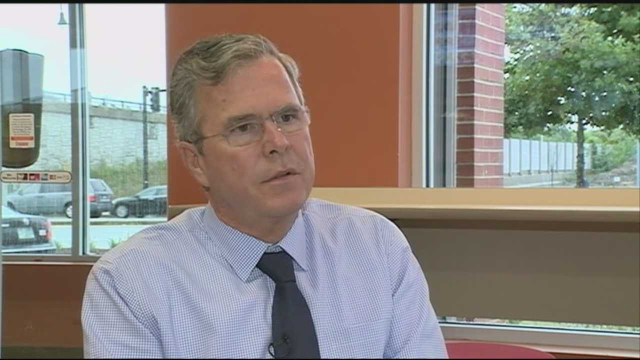 Republican presidential contender Jeb Bush heard Wednesday from those fighting against the opioid epidemic in New Hampshire.