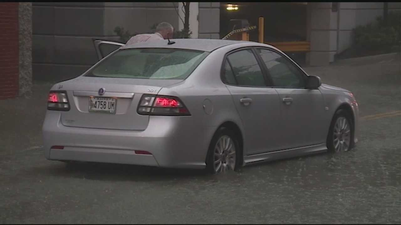 Heavy wind and rain caused concern throughout the Granite State Wednesday.