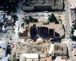 The Oklahoma City bombing was carried out by Timothy McVeigh and Terry Nichols on April 19, 1995. The attack killed 168 people and left more than 680 others injured.