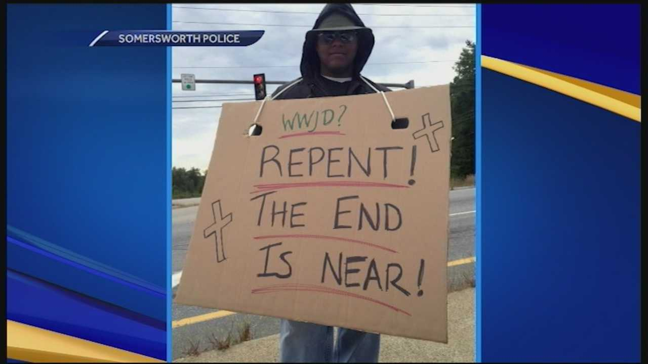 Police in Somersworth got creative in enforcing the state's new hands-free law.