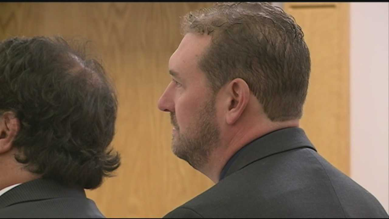 A fired Seabrook police officer pleaded guilty Monday to assaulting a man in his custody in 2009.