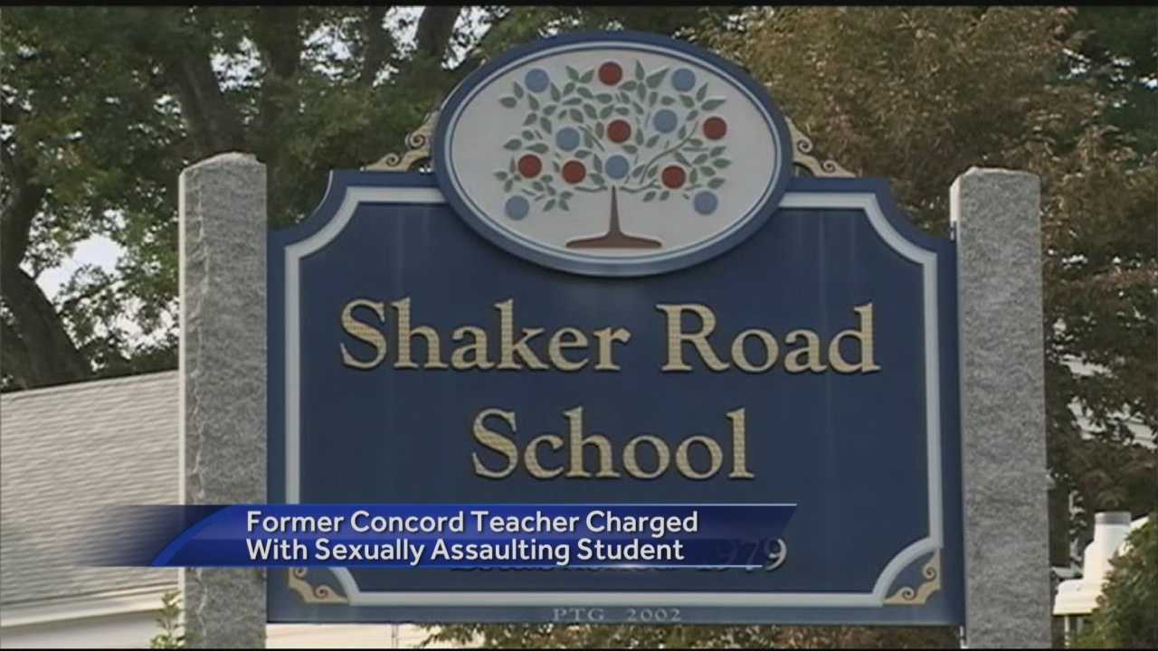 A former Concord teacher has been charged with sexually assaulting a student and manufacturing child sexual abuse images.