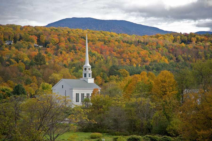 1. Stowe, Vermont