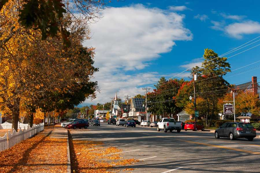 2. North Conway, New Hampshire