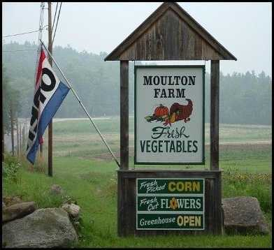 6 tie. Moulton Farm in Meredith