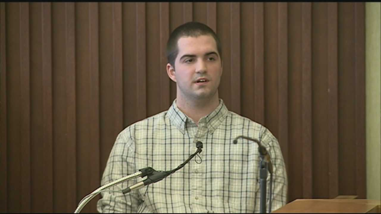 A man suspected in the death of a Madbury teenager took the stand in his own defense Thursday.