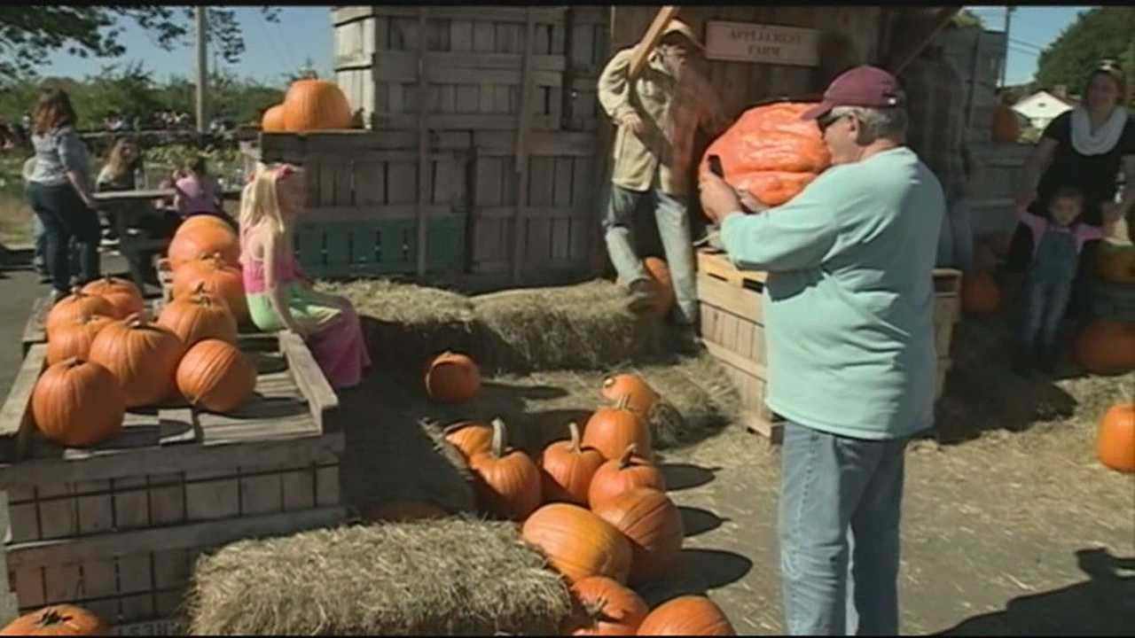Granite Staters took advantage of Monday's nice weather to head outside for the last day of the holiday weekend for apple-picking, leaf-peeping and more.