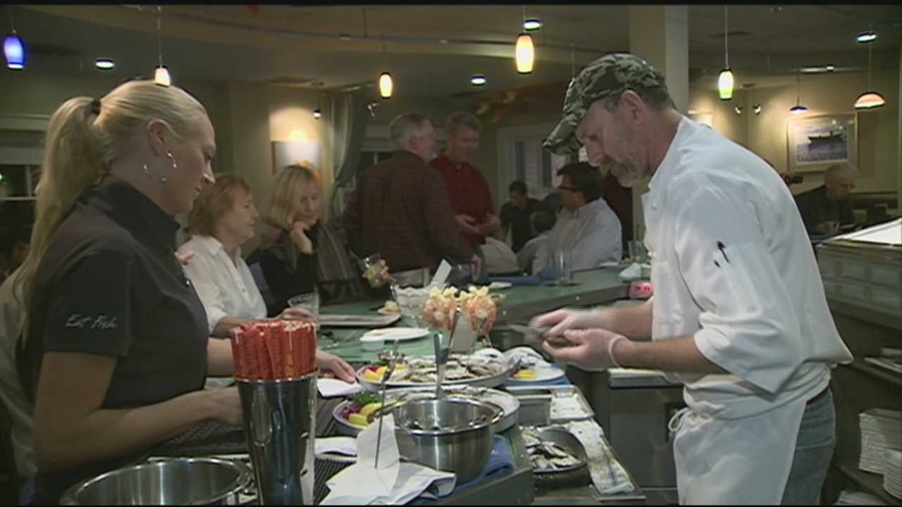 A Newmarket man is going to a national competition for oyster shucking. WMUR's Jean Mackin has the story.