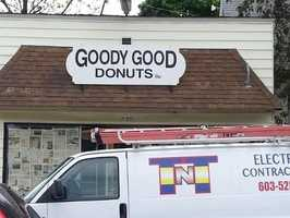 8. Goody Good Donuts in Laconia